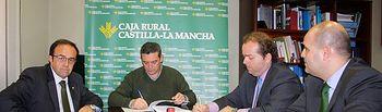 De izquierda a derecha Alberto Azaña, Santiago Lucas-Torres, Germán Muñoz y Alberto González-Mohino