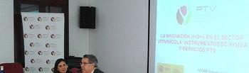 José Luis Rojas clausuró la jornada. Foto: Cooperativas Agro-alimentarias.
