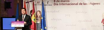 Acto institucional Día Internacional de la Mujer.Cifuentes Guadalajara