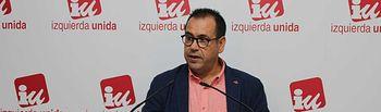 El coordinador regional de Izquierda Unida en Castilla-La Mancha, Juan Ramón Crespo.