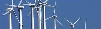 Se presenta el Plan de Relanzamiento de la Industria Eólica. Foto: EFE.
