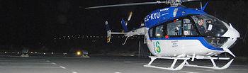 Los helicópteros sanitarios de Castilla-La Mancha han superado las mil horas de vuelo nocturno