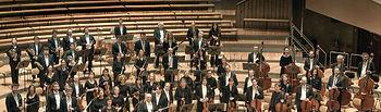 Imagen de la Orquesta Sinfónica de Berlín, que será la encargada de inaugurar este sábado la XVI edición del Festival Internacional de Música de Toledo, que organiza el Gobierno de Castilla-La Mancha, en colaboración con la Diputación Provincial, el Ayuntamiento de Toledo, CCM y Gas Natural.