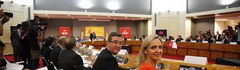 Casero y Marín en el Consejo de Política Científica, Tecnológica y de Innovación. Foto: JCCM.