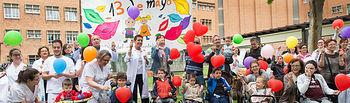 Celebración del Día del Niño Hospitalizado en el Hospital Nacioonal de Parapléjicos (Foto: Carlos Monroy)