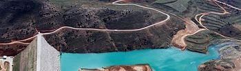 El Ministerio de Agricultura, Alimentación y Medio Ambiente adjudica el contrato para la explotación del Embalse de las Parras y el abastecimiento de la zona central de las Cuencas Mineras (Teruel). Foto: Ministerio de Agricultura, Alimentación y Medio Ambiente