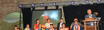 Ceremonia de Presentación de los Manchegos y Manchegas de Honor de la Feria y Fiestas El Bonillo 2018.