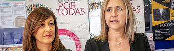 Pilar Callado y Montserrat Muro.