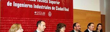 Jesús López Fidalgo informó de asuntos varios de la Escuela de Industriales de Ciudad Real.