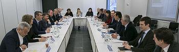 Celebrada en la sede nacional del Partido Popular, la reunión de coordinación presidida por Fernando Martínez-Maillo