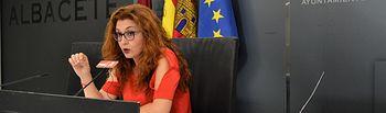 Juani García, concejala del Grupo Municipal Socialista en el Ayuntamiento de Albacete.
