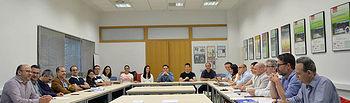 Imagen de la reunión en la que se presentaron los resultados del proyecto Sustertech4CH. © Gabinete de Comunicación UCLM