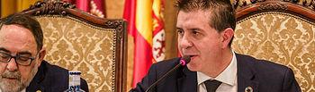 Santiago Cabañero, presidente de la Diputación de Albacete. Foto: Manuel Lozano García / La Cerca
