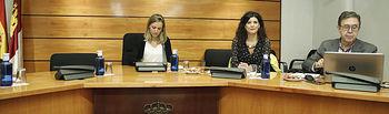 Toledo, 9 de octubre. Primera reunión de la Comisión no Permanente de Estudio para alcanzar un Pacto contra la Despoblación en Castilla-La Mancha. FOTOS: Carmen Toldos.