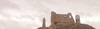Castillo de Carabanchel o Monreal. Foto: https://listarojapatrimonio.org/