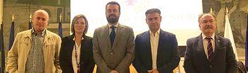 González Ramos participó en un debate en Madrid sobre el futuro de la agricultura en España.