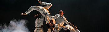 La danza 'No sin mis huesos', basada en Miguel de Cervantes.