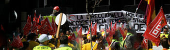 Foto de la concentración en Madrid
