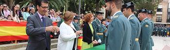EL Gobierno de Castilla-La Mancha agradece en Ciudad Real a la Guardia Civil su trabajo por garantizar la seguridad y para vivir en libertad