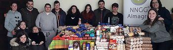 Nuevas Generaciones de Almagro recauda más de 700 kg de alimentos en la Campaña Populares Solidarios