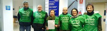 Componentes de Marea verde Albacete invitamos al Delegado de Educación a participar en la mesa sobre acceso a la función pública el pasado 1 de febrero.
