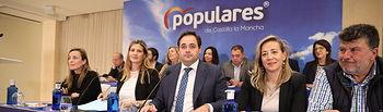 El presidente del Partido Popular de Castilla-La Mancha, Paco Núñez,  ha presidido  la reunión del Comité Ejecutivo Regional del PP.