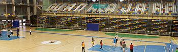 actividad deportiva en el polideportivo Palacio Multiusos
