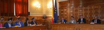 Pleno Diputación de Toledo.