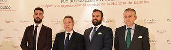 Desayuno informativo de Europa Press para presentar el proyecto 'Puy du Fou España'.  (Fotos: José Ramón Márquez // JCCM)