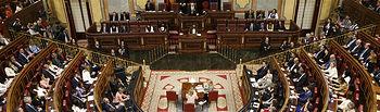 Sesión Constitutiva de la XIII Legislatura.