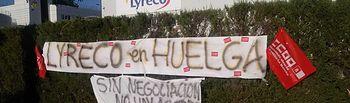 Huelga en Lyreco (Alovera, Guadalajara)