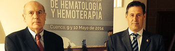 Carlos Navarro clausura la XII Reunión de Hematología y Hemoterapia que se ha celebrado en Cuenca