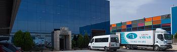 Fachada de AMIAB en el Polígono Industrial Romica de Albacete