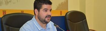 Daniel Tito, concejal de Festejos en el Ayuntamiento de Talavera.