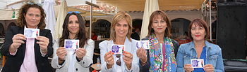 CCOO Albacete presenta la nueva campaña de prevención de agresiones sexistas en la Feria de Albacete