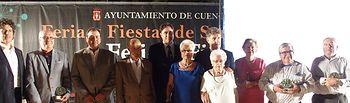 El acto del pregón, a cargo de la historiadora Almudena Serrano, da inicio a la Feria y Fiestas de San Julián