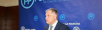 Francisco Cañizares, portavoz del Grupo Parlamentario Popular en las Cortes regionales. Foto: PP CLM.
