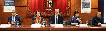"""Jornadas """"El futuro del trabajo: políticas de empleo: evolución y evaluación"""" celebrado en la Facultad de Ciencias Económicas y Empresariales de la universidad Autónoma de Madrid."""