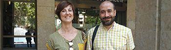 Podemos Albacete ha recogido las actas de concejal  correspondientes a Alfonso Moratalla y Carmen Fajardo