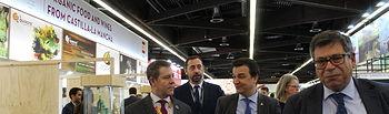 El presidente de Castilla-La Mancha, Emiliano García-Page, asiste, en Núremberg, a la inauguración de la feria de productos ecológicos Biofach. (Fotos: JCCM).
