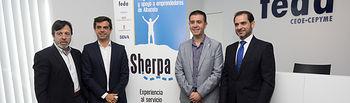 Presentación del Programa de Formación y Apoyo a Emprendedores de Albacete SHERPA.