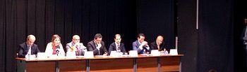 Firma Protocolo LIFE Regenera Limia, Ourense. Foto: Ministerio de Agricultura, Alimentación y Medio Ambiente
