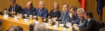 Mariano Rajoy preside la reunión Plenaria del Grupo Popular en el Congreso de los Diputados y en el Senado
