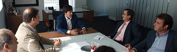 FEDA y ADIEX ofrecen al nuevo director del IPEX todo el apoyo necesario para aumentar el tejido exportador de Albacete