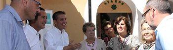 Encuentro del presidente con el movimiento asociativo en la Feria de Albacete