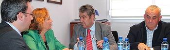 Soriano. Toma de posesión del presidente de la DO Mancha. Foto: JCCM.