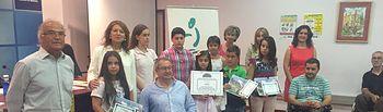 Premios del XVII Concurso de Dibujo y Pintura para escolares de ASPAYM Cuenca. Foto: JCCM.