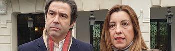 Lorenzo Robisco y Encarnación Jiménez.