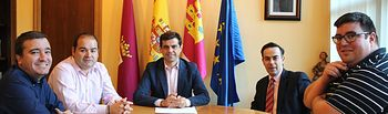 Reunión con la Junta de Cofradías de la Semana Santa de Albacete