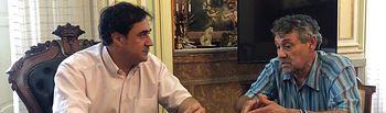 Reunión Presidente AAVV Villa Román